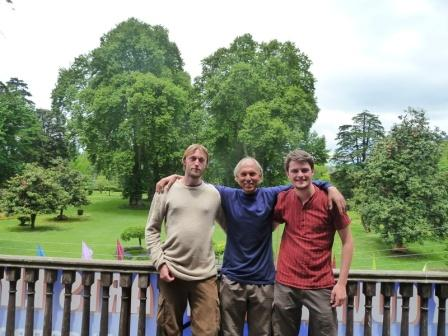 Rafael, Abdul and Moritz